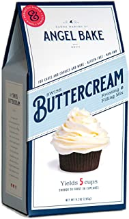 Angel Bake Swiss Buttercream & Frosting Mix. Makes 5 cups of buttercream. Gluten and Dairy Free.