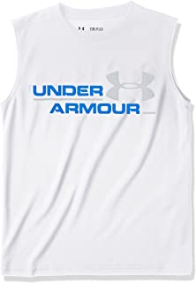 featured product Under Armour Boys' Double Header Tank