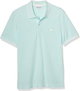 [ラコステ] ポロシャツ [公式] ボーダーデザインポロシャツ (半袖) メンズ PH5055L