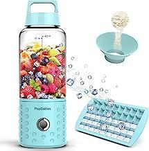 Portable Blender, PopBabies Personal Blender, Smoothie Blender. Rechargeable USB Blender