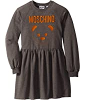 Moschino Kids - Dress w/ Embroidered Toy Bear (Big Kids)