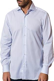 Barba Napoli Camicia Uomo Oxford Azzurro I1U022PZ5004U