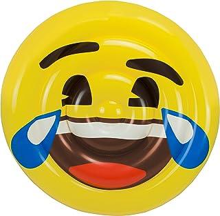 Emoji Colchoneta Hinchable Cara Llorando de la Risa (Saica 5885)