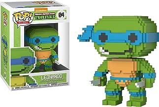Funko Leonardo POP! 8-bit x Teenage Mutant Ninja Turtles Vinyl Figure + 1 Official TMNT Trading Card Bundle [#004]