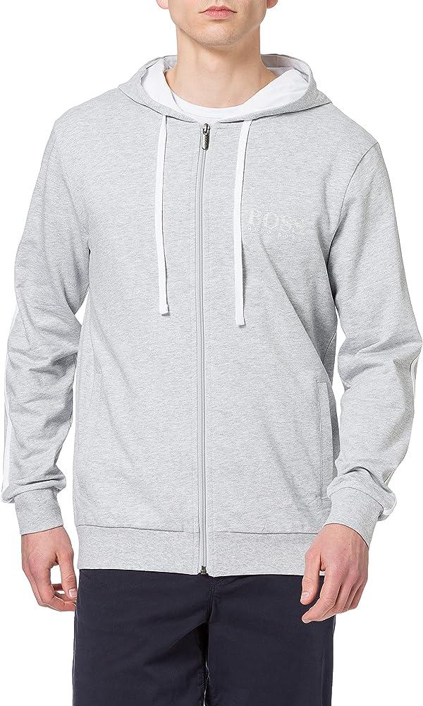 Hugo boss authentic jacket h felpa con cappuccio per uomo 100% cotone 50452283A