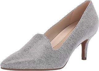 Women's Macrame Shoe - Heel Loafer Hybrid with Memory...