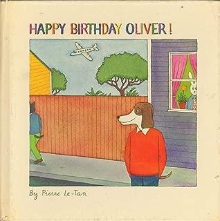 Happy birthday, Oliver!