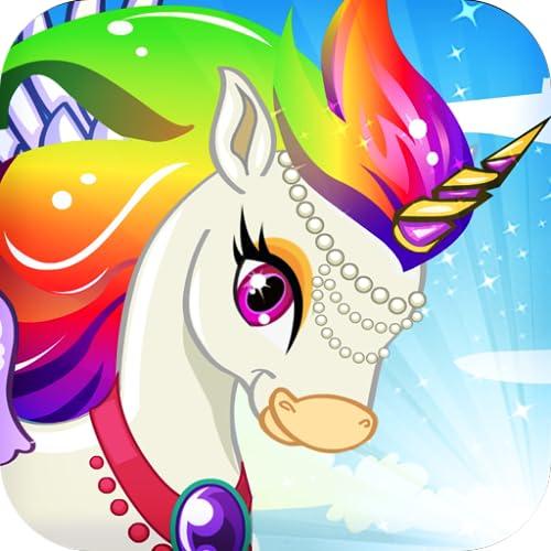 Mein Einhorn Regenbogen - Pony Schöpfer, Spiele für Mädchen