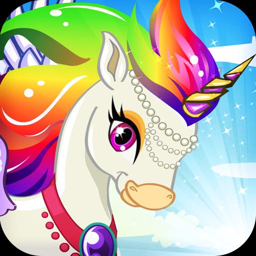 mon arc-en-licorne - créateur de poney, jeux pour filles