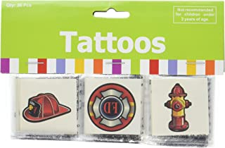 Fun Express Firefighter Tattoos