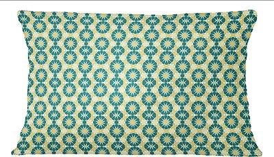 Amazon.com: s4sassy Ikat Print popelín de algodón 2 pcs Home ...