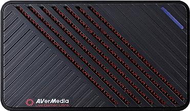 Avermedia Placa Captura Gc553 Placa Captura Vídeo Usb Avermedia Live Gamer Ultra - Gc553, Preto - Windows