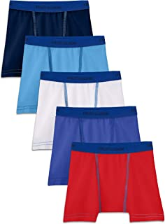 Toddler Boys 5 Pack Stretch Boxer Brief, Assorted, 4T/5T