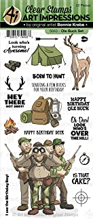 Art Impressions 5043 Work & Play Clear Stamps-Ole Buck