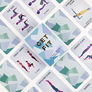 Get Fit Exercise Activity Cards