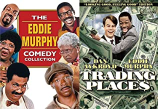 Eddie Murphy Collection Trading Places Comedy Triple Feature Bowfinger / Life & The Nutty Professor DVD 6 Movie Funny Man Set Bundle