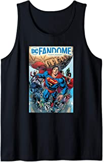DC Fandome Superman Hero Collage Débardeur