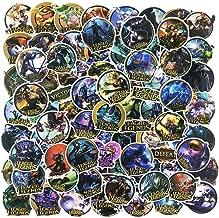 League of Legends Game Stickers Laptop Teens Skateboard Luggage Bumper Car Helmet Decals 100pcs