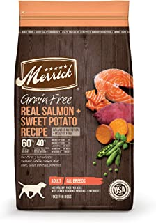 Best merrick dog food salmon Reviews