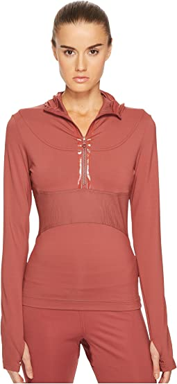 adidas by Stella McCartney - Run Hooded Long Sleeve BQ8841