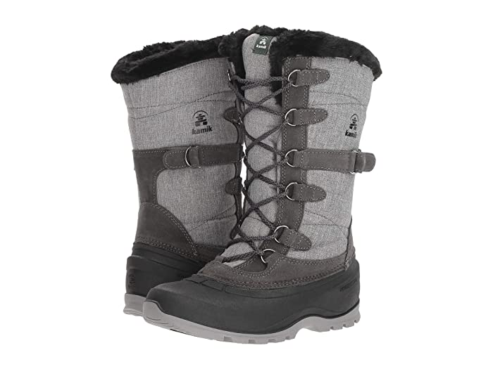 Kamik  SnoValley 2 (Charcoal) Womens Cold Weather Boots