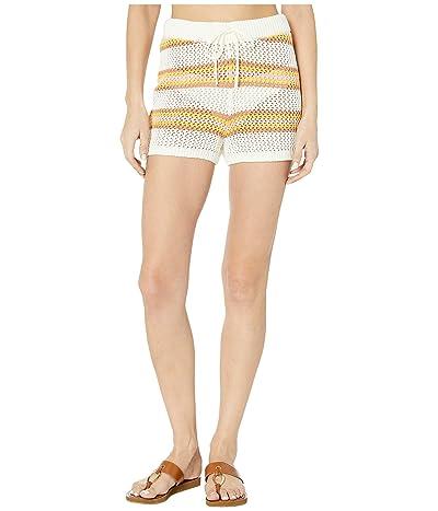 L*Space On the Horizon Stripe Shorts Cover-Up (On the Horizon Stripe) Women