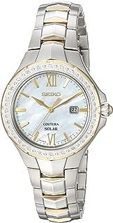 Seiko Women's Coutura Solar Diamond Bezel