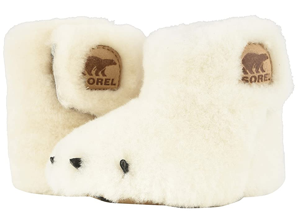 SOREL Kids Bear Paw Slipper (Infant) (Sea Salt/Beach) Kids Shoes