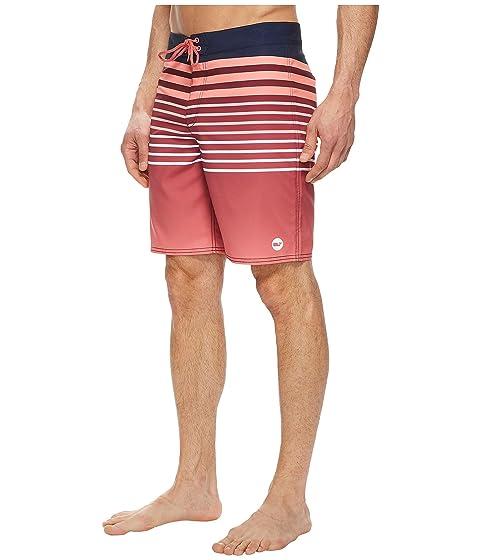 Vines Stripe Surflodge Boardshorts Red Jetty Vineyard xYq8dEwg8n