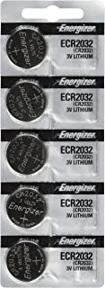 Energizer CR2032 Replacement Batteries  for Cayeye, Sigma, Knog, Planet Bike & Many Others, Card of 5