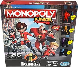 Monopoly Junior Game: Disney/Pixar Incredibles 2 Edition