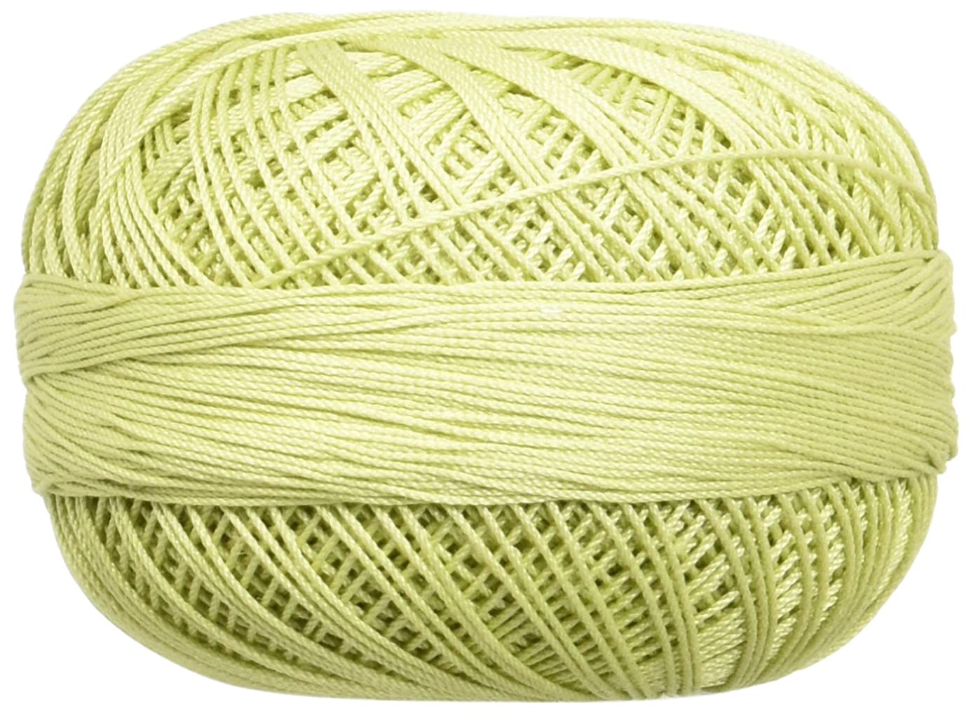 Handy Hands 210-Yard Lizbeth Cotton Thread, 25gm, Light Leaf Green rojlkj8908