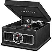 Victrola 5-in-1 Nostalgic Bluetooth Record Player with CD, Radio & Record Storage + $20 Kohls Cash