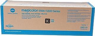 Konica Minolta A06V133 Magicolor 5550 5570 5650 5670 Toner Cartridge (Black) in Retail Packaging