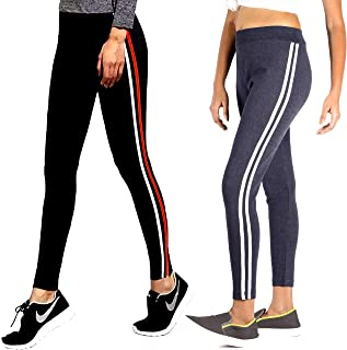3ebcd121ad0d84 CEE 18 Women's Slim Fit Stretchable Jeggings Combo of 2 (9051_Combo, Waist  Size-