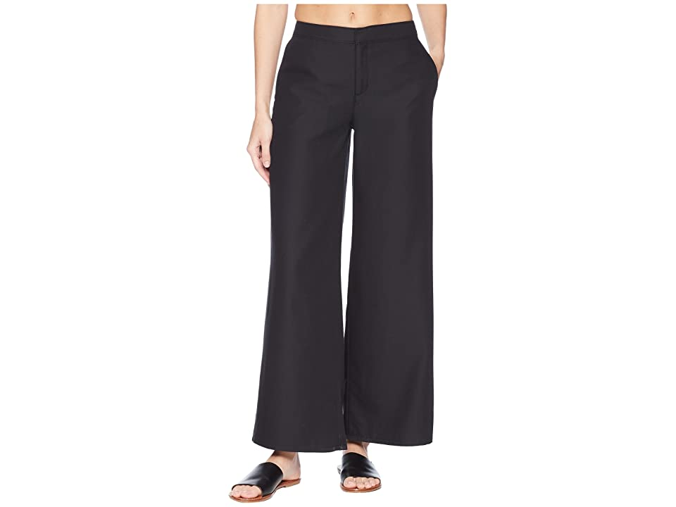 ExOfficio Basilica Wide-Leg Pants (Black) Women
