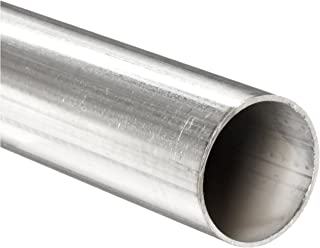 Stainless Steel 316L Welded Round Tubing, 1/2