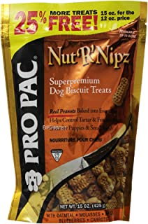 PRO PAC TREATS, Nut'R'Nipz, 15 Ounce Pouch