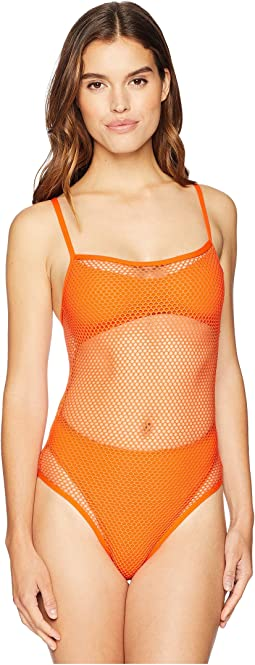 Mesh Madness One-Piece