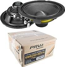 (2) PRV Audio 6MB250-NDY-4 6