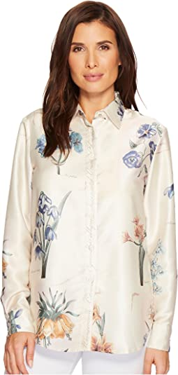Floral Twill Shirt