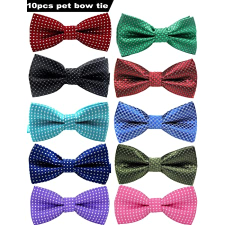 purple bow tie doggy bow tie puppy bow tie pet bow tie dog clothing detachable bow tie dog bow tie star print dog bow tie