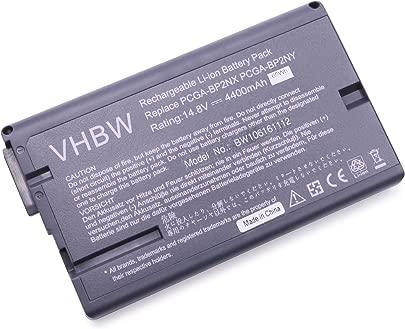 vhbw Akku passend f r Sony Vaio PCG-NV100 PCG-NV170P PCG-NV55 PCG-NV55BP Laptop Notebook Li-Ion 4400mAh 14 8V 65 12 Wh schwarz Schätzpreis : 49,01 €