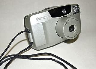 Canon Sure Shot 60 Zoom DATE SAF 35mm Film Camera w/Canon Zoom Lens 38-60mm 1:4.5-6.7 Camera (Grey/Black Color)
