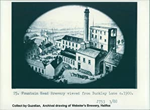 Vintage photo of Berkshire: Courage Brewery