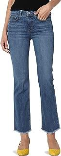 Vintage Versatile Washed Stretch Denim 32 Mid Rise Slim Boot Cut Jeans