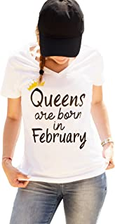 legends are born in february t shirt