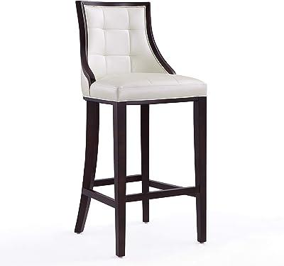 Remarkable Amazon Com Baxton Studio Clymene Black Wood And Cream Creativecarmelina Interior Chair Design Creativecarmelinacom