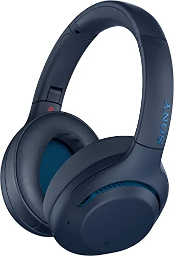 Sony Noise Cancelling Headphones WHXB900N: Wireless Bluetooth Over The Ear Headset with Mic for Phone-Call and Alexa ...
