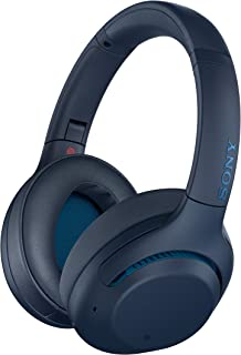 Sony WH-XB900N Wireless Noise Canceling Extra Bass Headphones, Blue